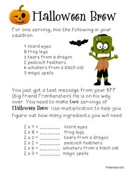 Halloween Brew Multiplication