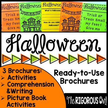 Halloween Brochure Tri-Fold Bundle