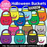Halloween Buckets- Halloween Clipart