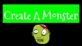 Halloween Build A Monster Google Slides