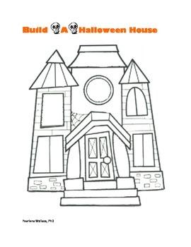 Halloween Fun Activities: Build-A-Spooky Haunted House Activity