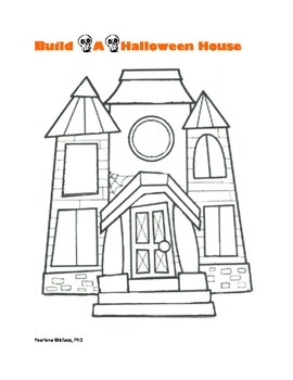 Halloween Fun Activities: Build-A-Spooky Haunted House Activity
