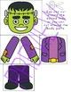 Halloween Build a Frankenstein Board Game