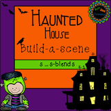 Halloween Build a Scene for S and S blends No print