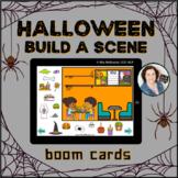 Halloween Build a Scene     Boom Cards™