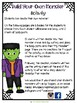 Halloween:  Build your own Monster