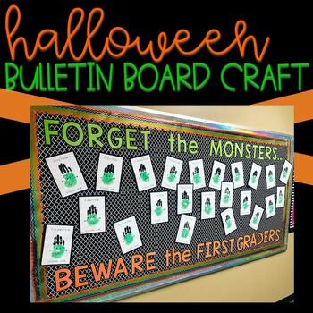 Halloween Bulletin Board Craft - First Grade