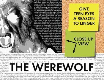 Halloween Bulletin Board Decor for Teens, Monster Poster #4, The Werewolf