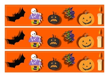 Halloween Bulletin Board Display Border
