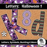 Halloween Bulletin Board Letters & Editable Bunting | Printable Class Decor