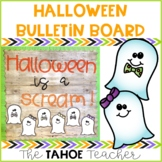 Halloween Bulletin Board | With Writing Prompt