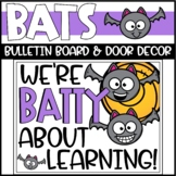 Halloween Bulletin Board or Door Decoration - Bats