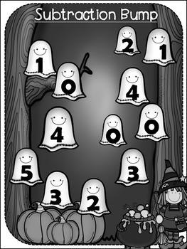 Halloween Bump {{ 2 dice subtraction}}