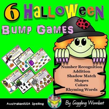 Halloween Bump Games
