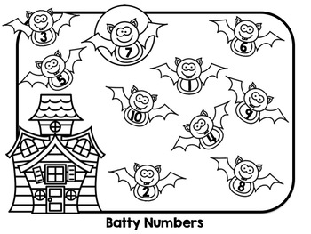 Halloween Bumpathon - Kindergarten Math Bump Games