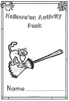 Halloween Mixed Activity Pack for KS1 / KS2