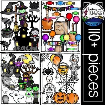 Halloween Clipart MEGA Bundle