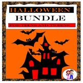 Halloween Activities,  No Prep, October Bundle for Teens a