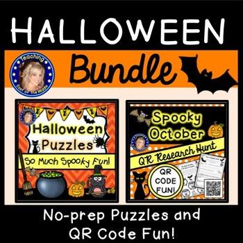 Fall and Halloween Activity Bundle