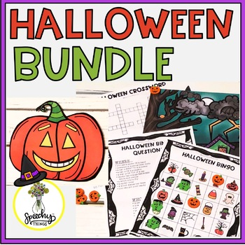 Halloween FULL Resource : Speech and Language Therapy