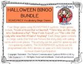 Halloween Bundle - BOARDMAKER Bingo Games