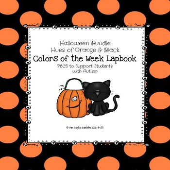 Halloween Bundle Colors of the Week Lapbook