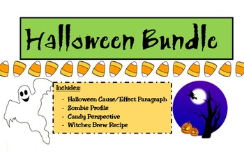 Halloween Bundle - Creative Writing Activities