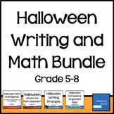 Halloween Writing and Math Bundle