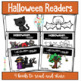 Halloween Bundle English Math and a Reader