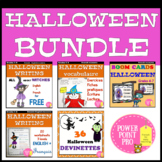 Halloween Bundle - Ensemle des resources français et angla