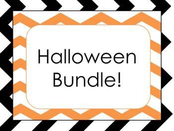 Halloween Bundle! (Includes: Halloween numbers, book, and words)