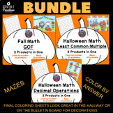 Halloween Bundle: Least Common Multiple, Greatest Common F