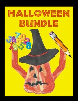 Halloween Bundle:   Literacy and Math Activities!  (CCSS A