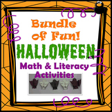 Halloween Math & Literacy Activities