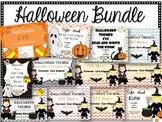 Halloween Bundle Pack:  CVC, Blends, Digraphs, Sight Words