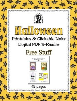 Halloween Bundle ~ Pennant, Craft, Ideas, Trivia and More ~ Huge Savings