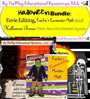 Halloween Bundle Upper Elementary