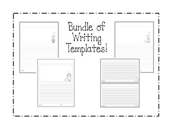 Halloween Bundle! {Witch, Frankenstein, Mummy Crafts} + Writing Templates!