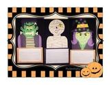 Halloween Bundle! {Witch, Frankenstein, Mummy Crafts} + Wr