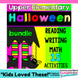 Halloween Activities for 4th Grade: Halloween Reading, Math, and Writing