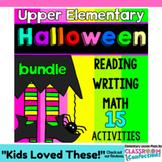 Halloween Activities for 4th Grade: Halloween Reading, Mat