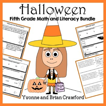 Halloween Bundle for Fifth Grade Endless