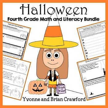 Halloween Bundle for Fourth Grade Endless