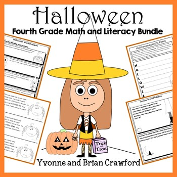 Halloween Bundle for Fourth Grade Endless