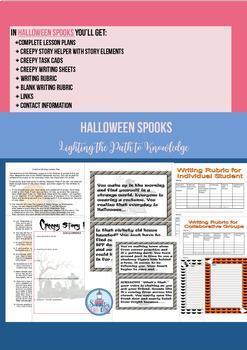Halloween Bundle for October (Grades 5-8)