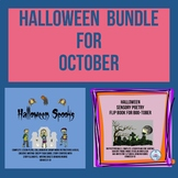 Halloween Bundle for October (Grades 6-8)