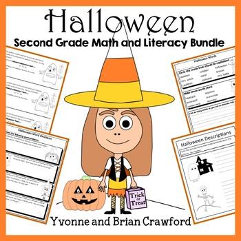 Halloween Bundle for Second Grade Endless