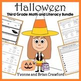 Halloween Bundle for Third Grade Endless
