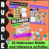 Halloween Picture Activity Bundle for Mixed Groups