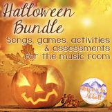 Halloween Music: Bundled Set of Songs & Activities for the